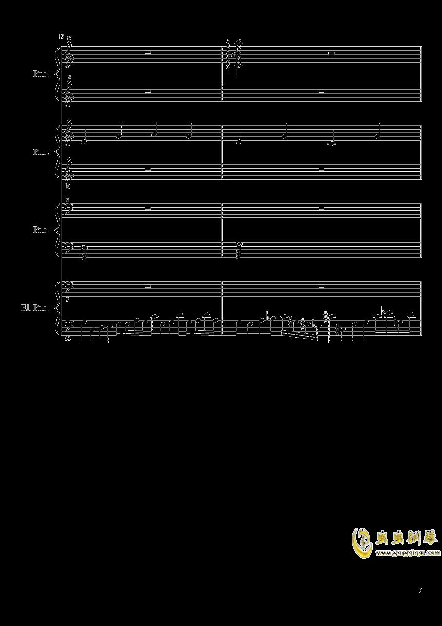 黑乐谱钢琴谱 第7页