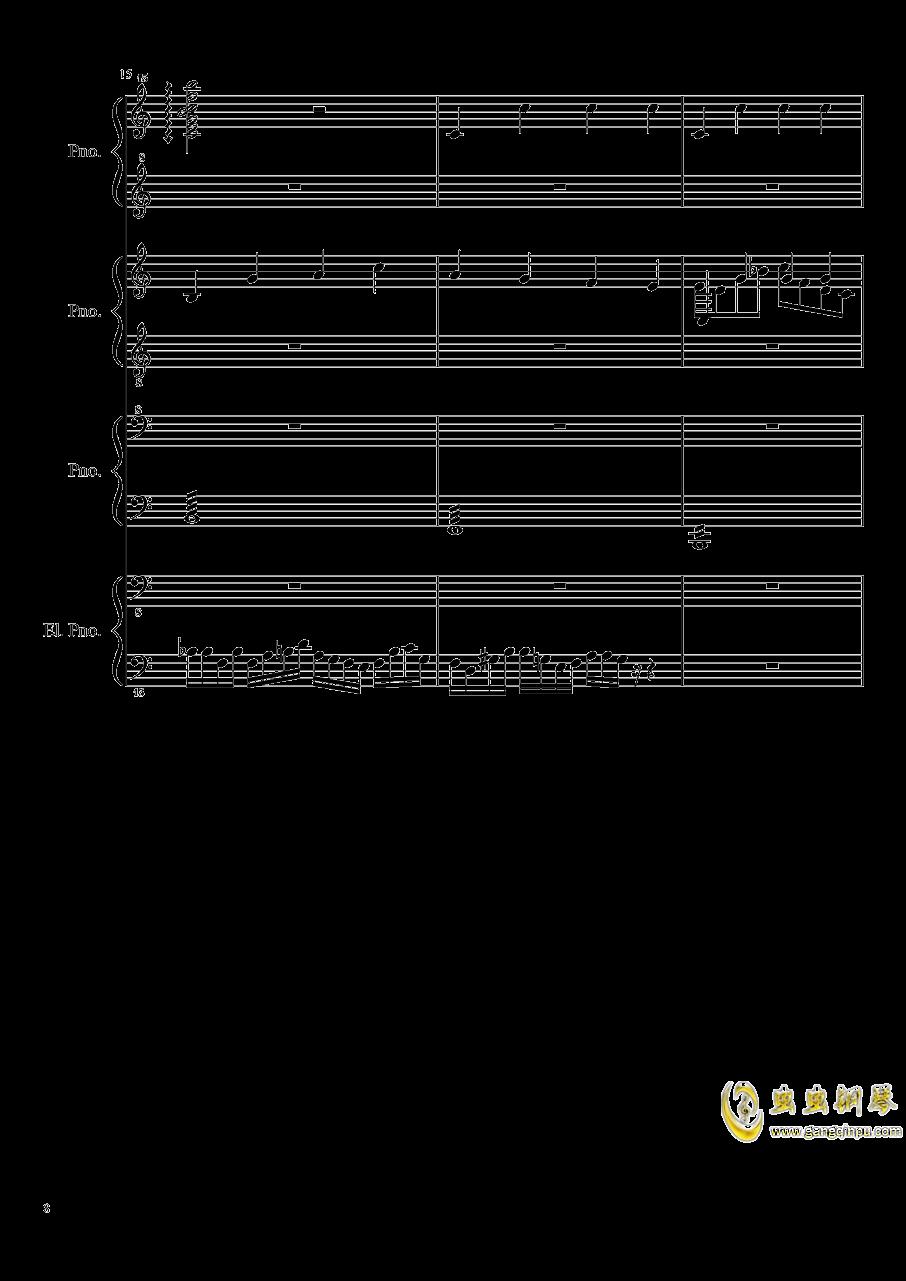 黑乐谱钢琴谱 第8页
