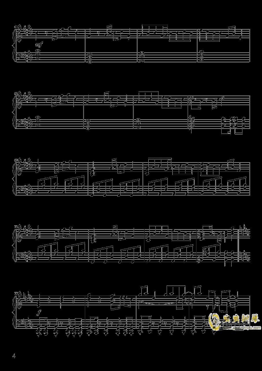 Pure Fries钢琴谱 第4页
