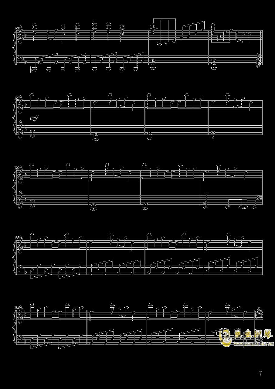 Pure Fries钢琴谱 第7页