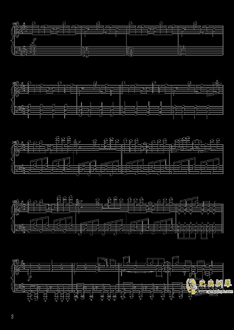 Pure Fries钢琴谱 第8页