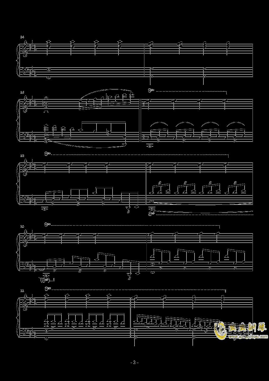 彷徨钢琴谱 第2页