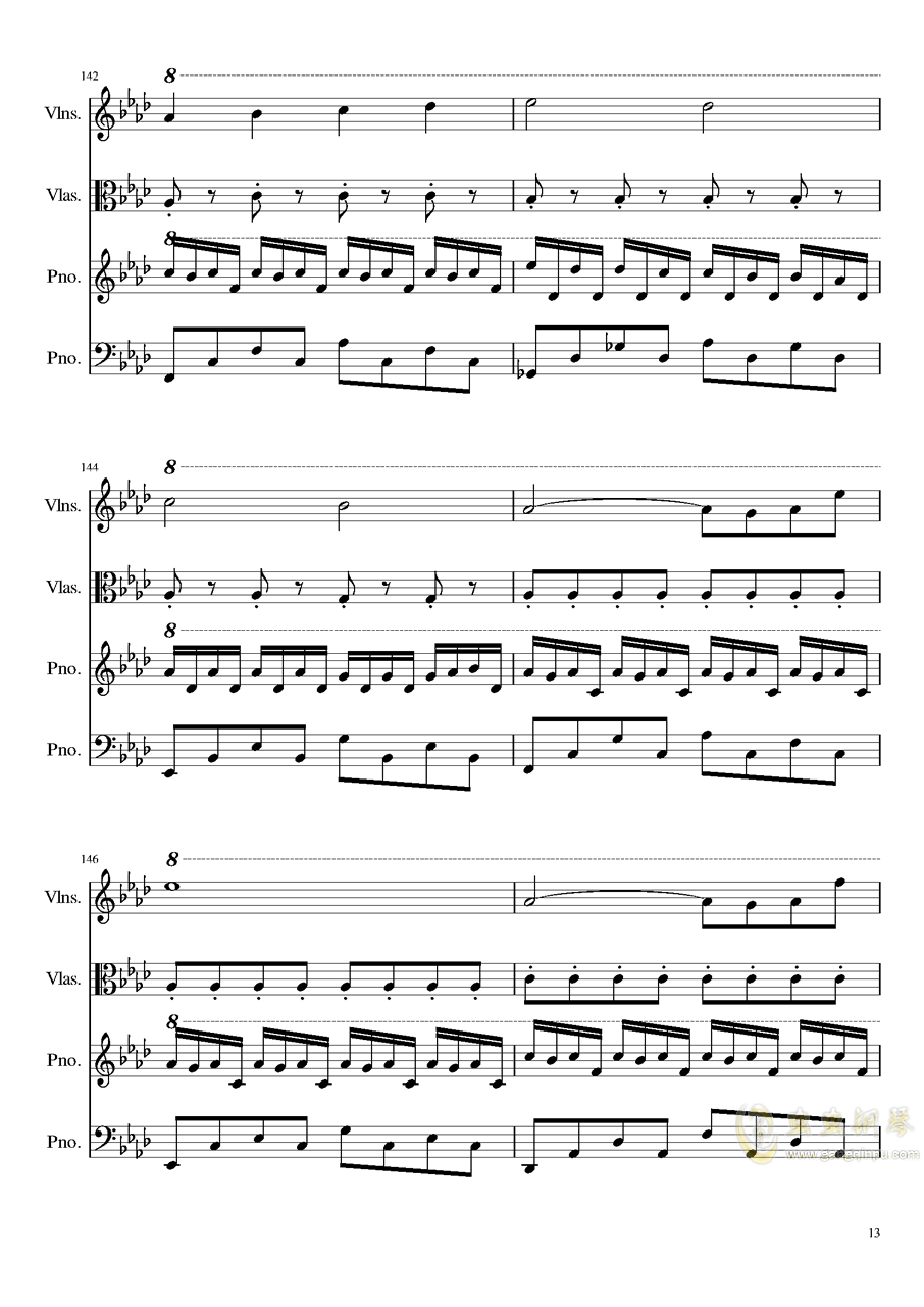 Ever Eternity钢琴谱 第13页