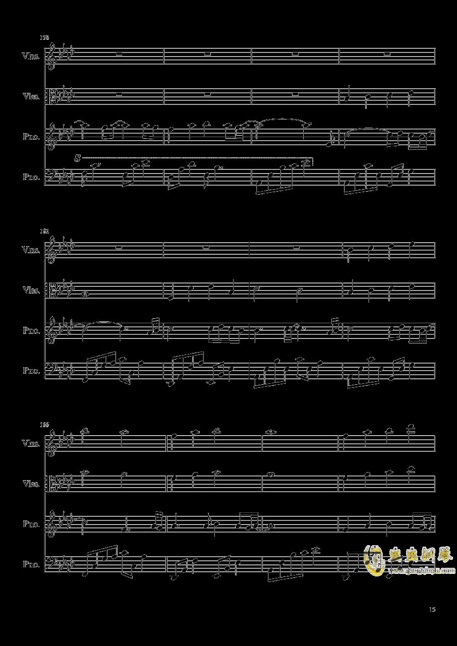 Ever Eternity钢琴谱 第15页