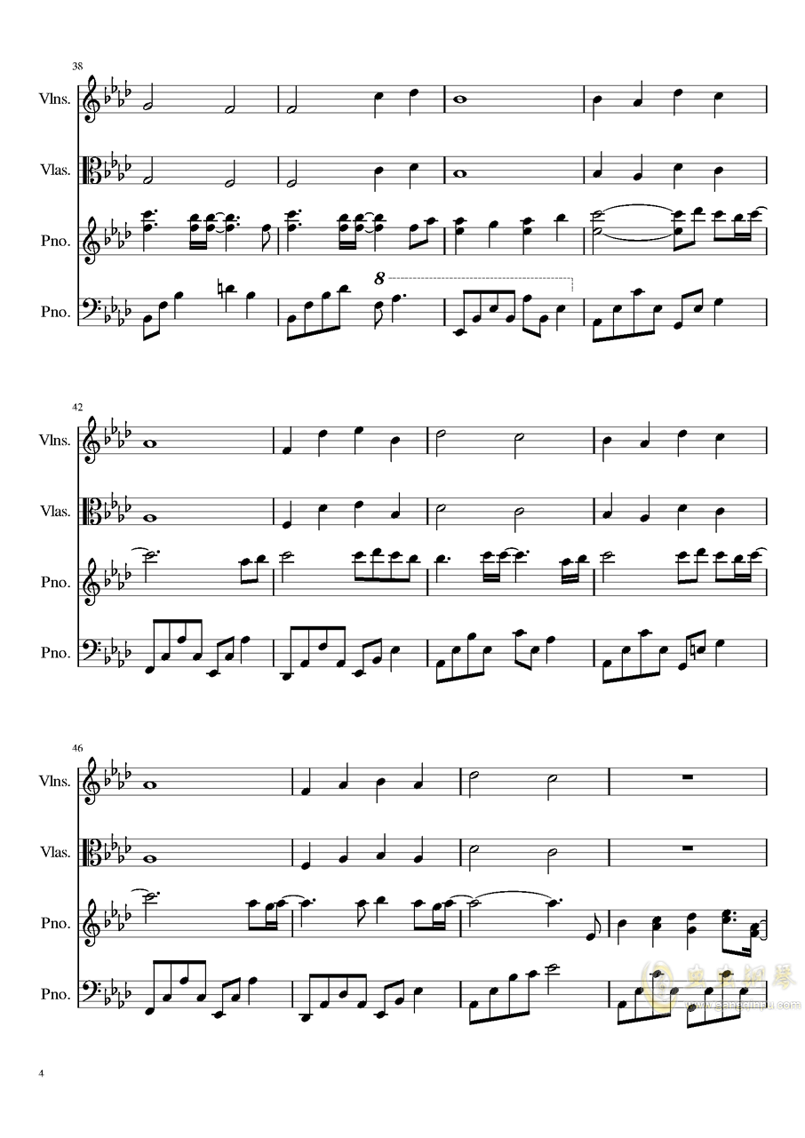 Ever Eternity钢琴谱 第4页