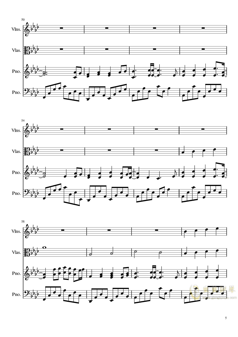 Ever Eternity钢琴谱 第5页