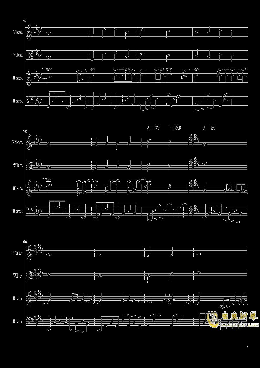 Ever Eternity钢琴谱 第7页