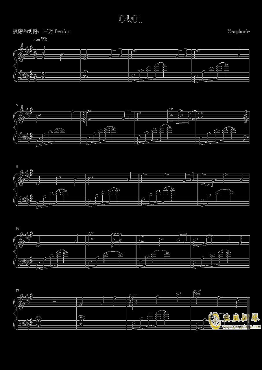 04:01 - Xeuphoria钢琴谱 第1页