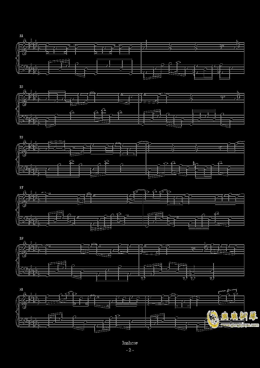 再见你好钢琴谱 第2页