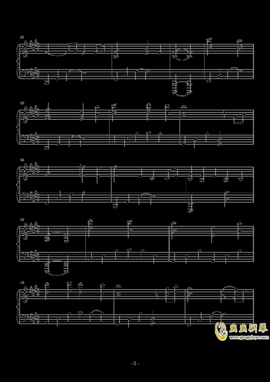 Sleeping Dove钢琴谱 第2页