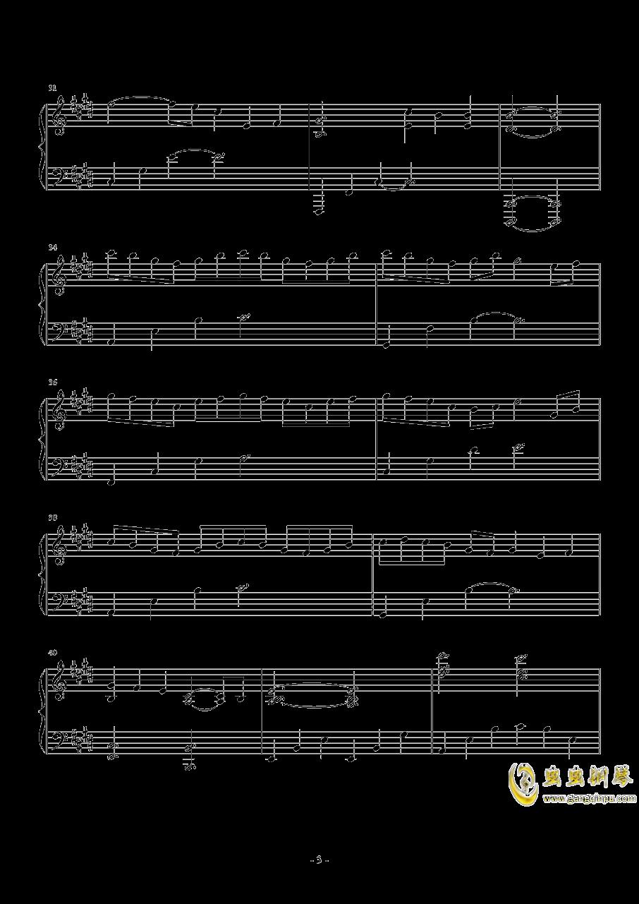 Sleeping Dove钢琴谱 第3页