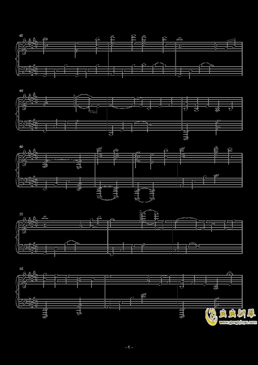 Sleeping Dove钢琴谱 第4页