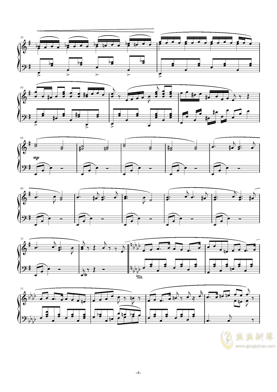 Happy Halloween钢琴谱 第4页