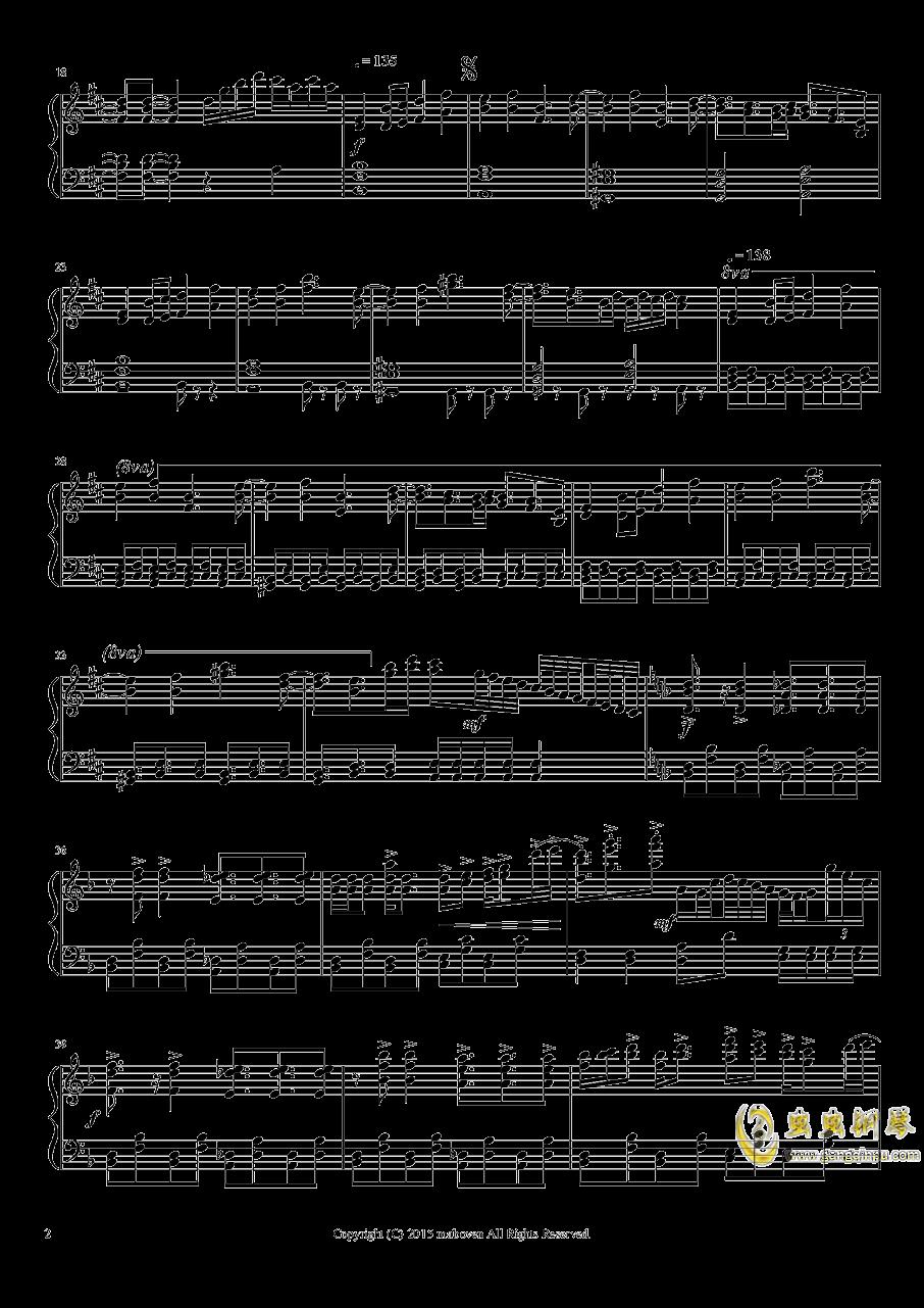 神秘的人偶钢琴谱 第2页