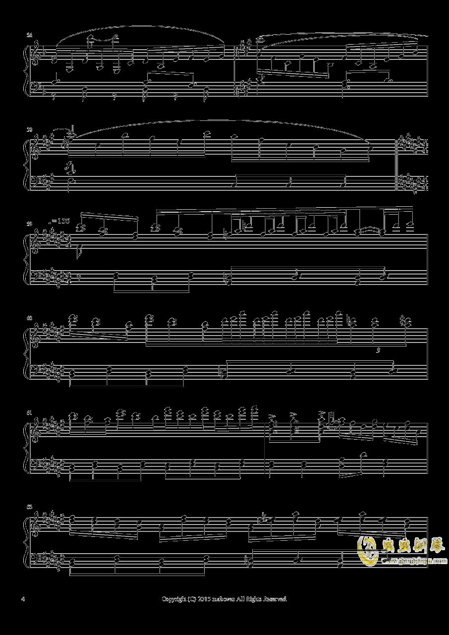 神秘的人偶钢琴谱 第4页