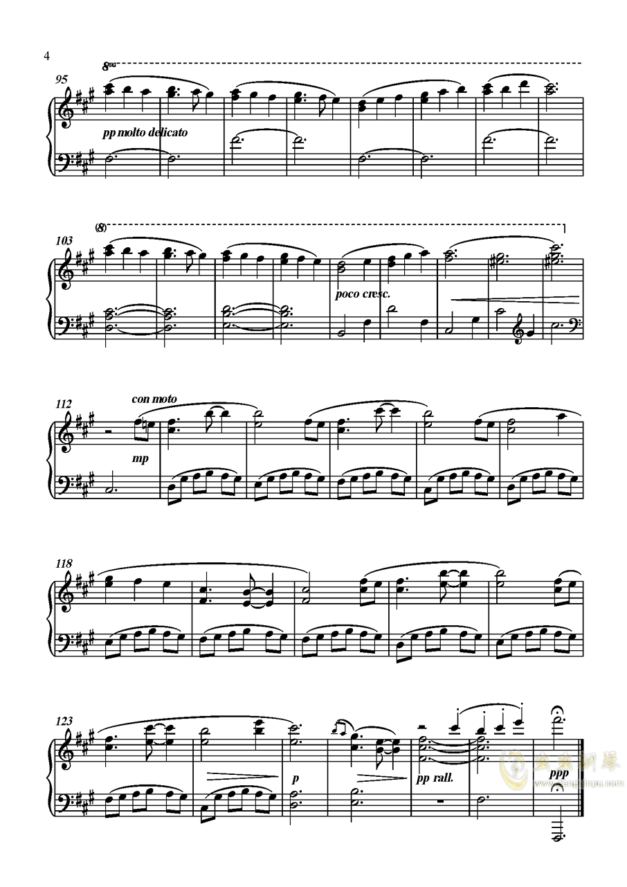 明石国行钢琴谱 第4页