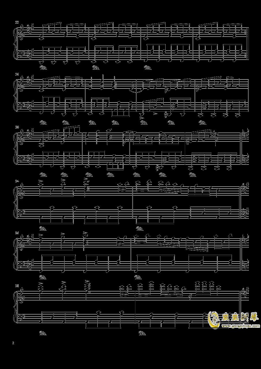 ブクレシュティの人形�� 布加勒斯特的人偶师【触手猴】钢琴谱 第2页
