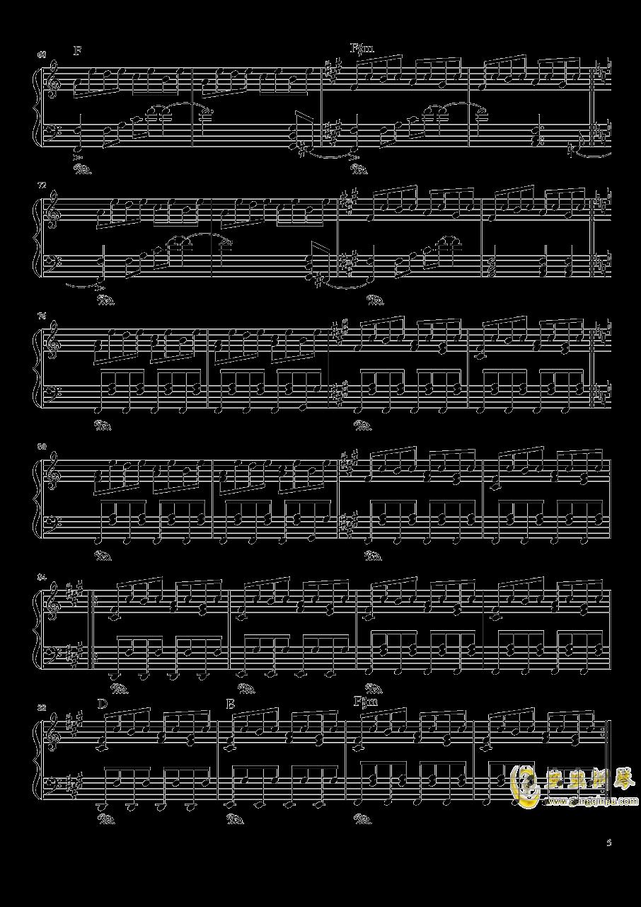 ブクレシュティの人形�� 布加勒斯特的人偶师【触手猴】钢琴谱 第5页