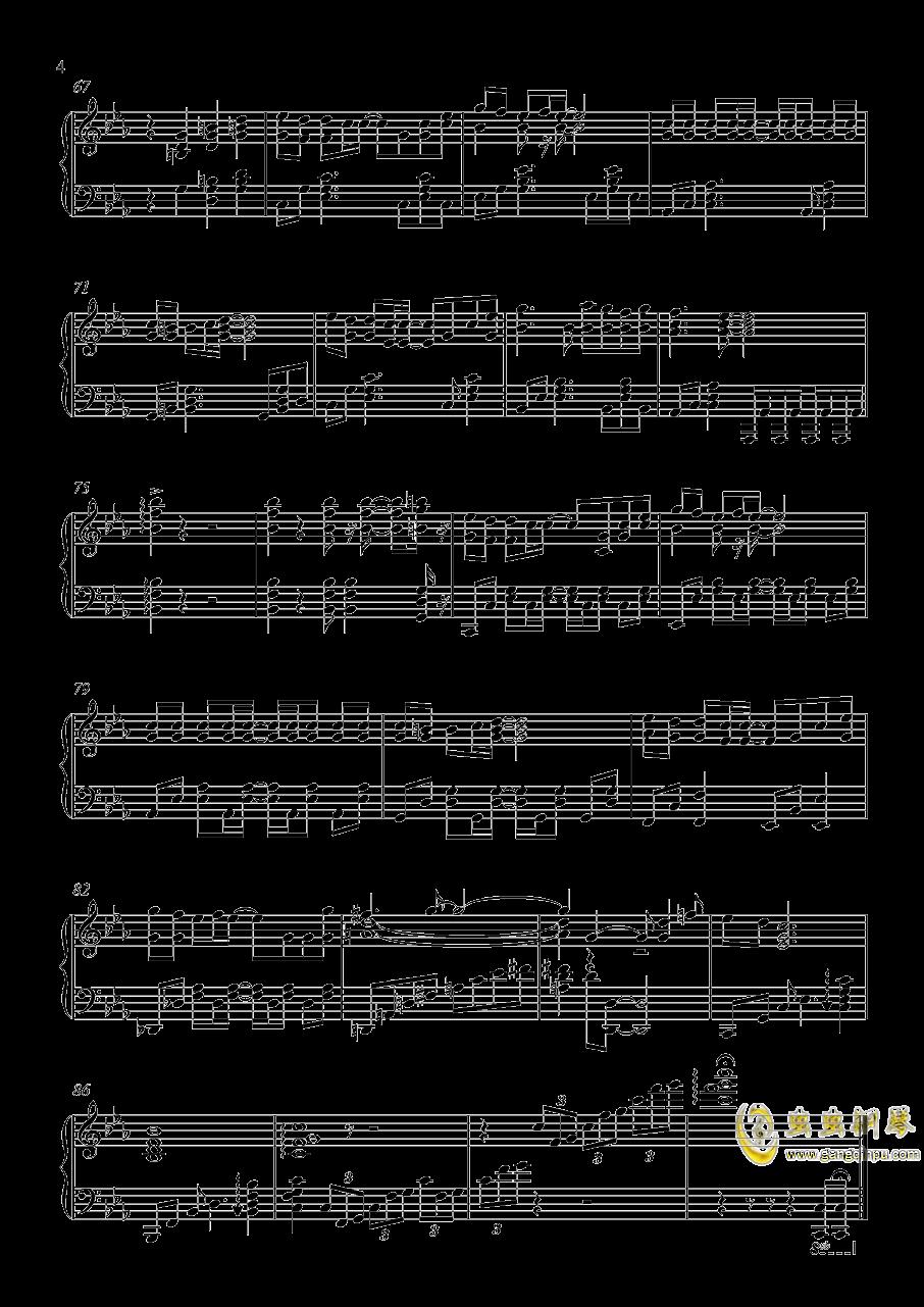 Bloody Stream钢琴谱 第4页