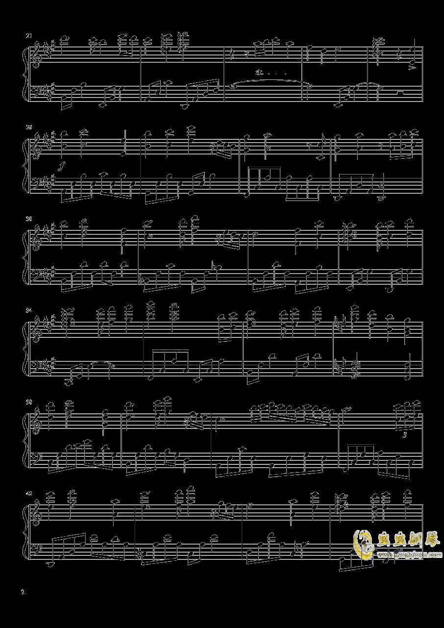 Love Lost...Love Found钢琴谱 第2页