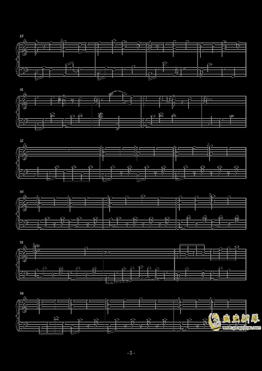 In der Weihnachtsbaeckerei钢琴谱 第2页