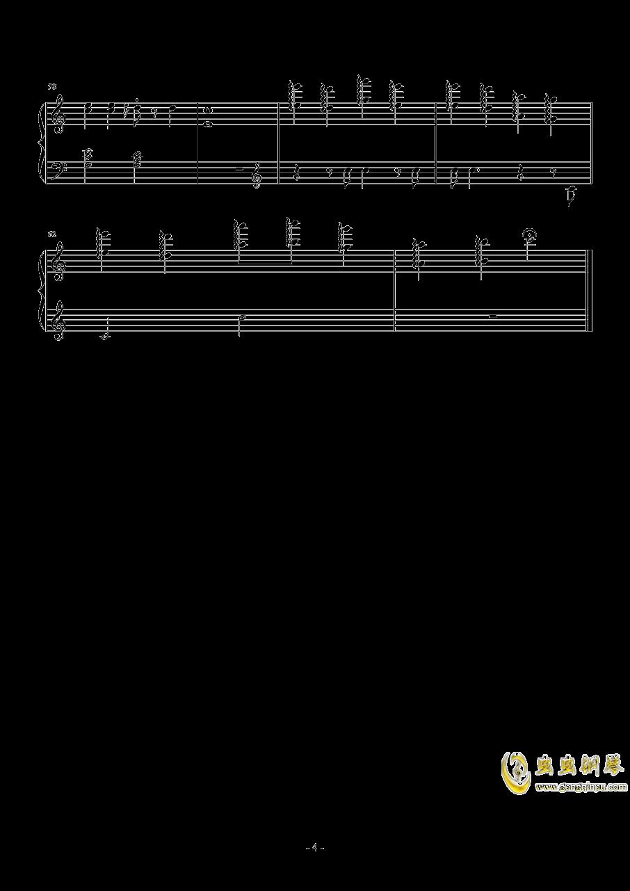 In der Weihnachtsbaeckerei钢琴谱 第4页