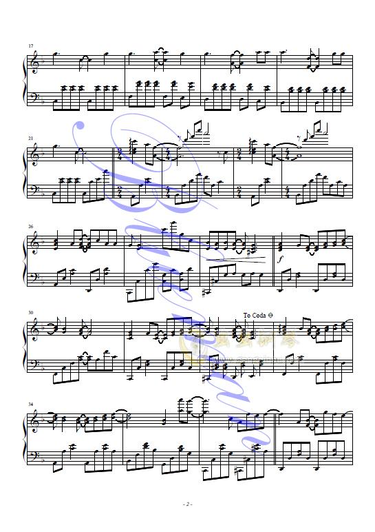 I Like Chopin钢琴谱 第2页