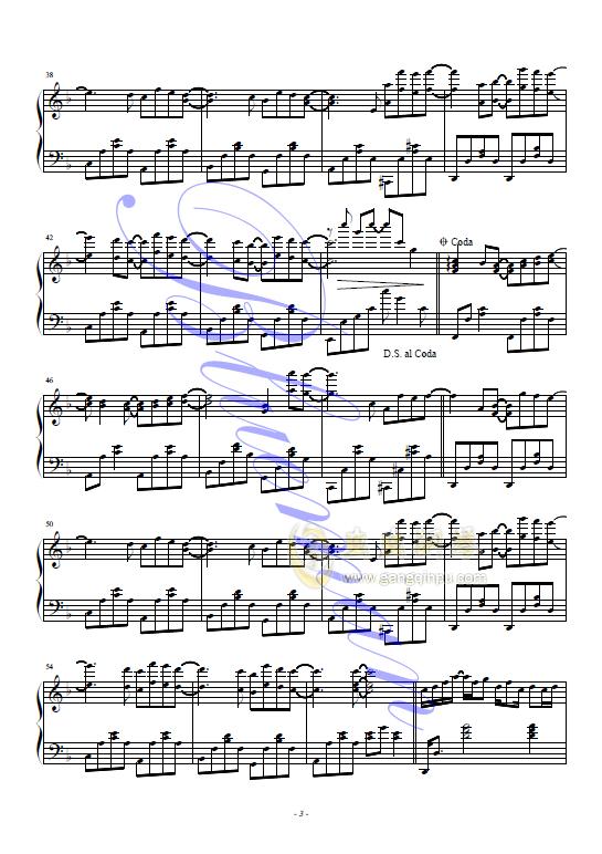 I Like Chopin钢琴谱 第3页