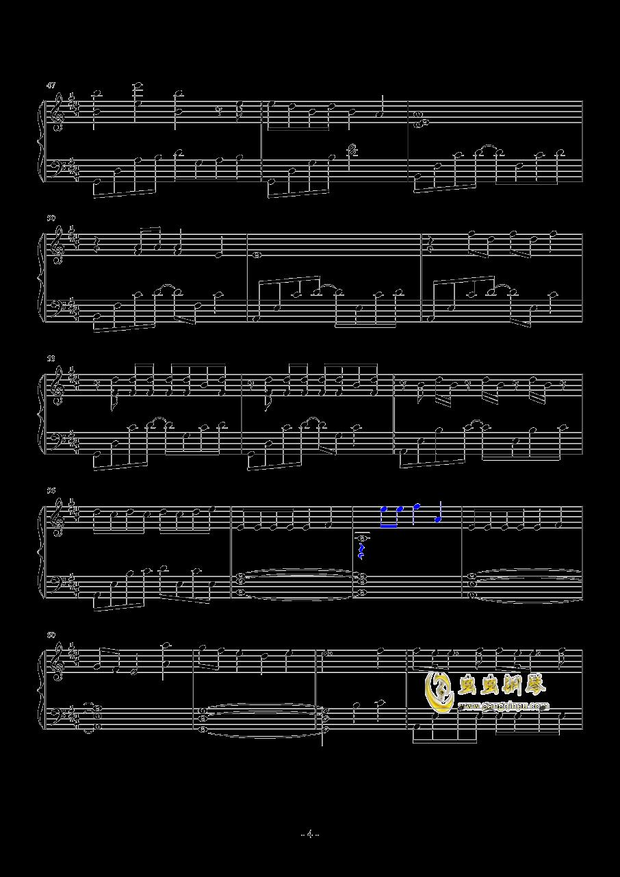 Good Things钢琴谱 第4页