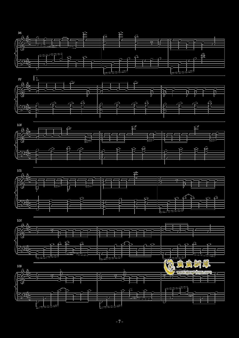 Good Things钢琴谱 第7页