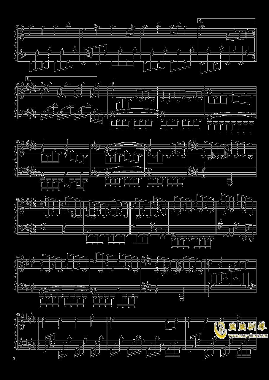 永远的春梦钢琴谱 第2页
