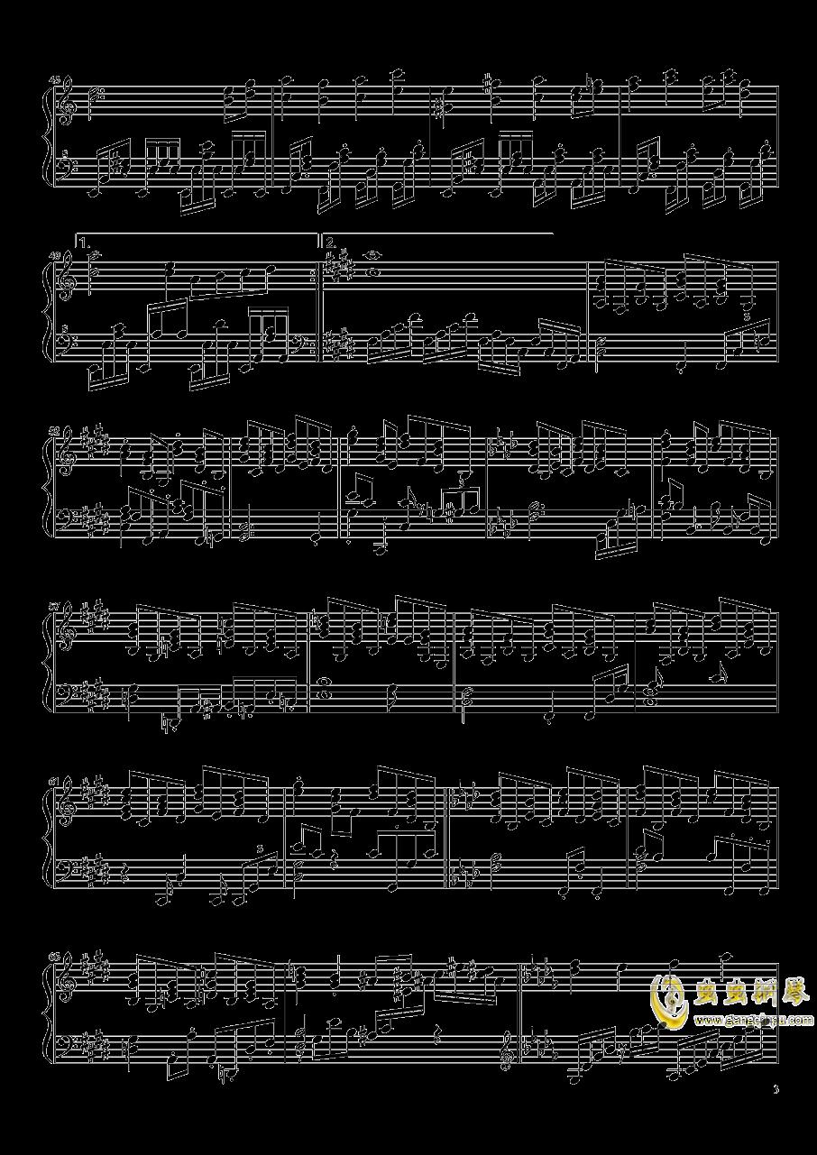 永远的春梦钢琴谱 第3页