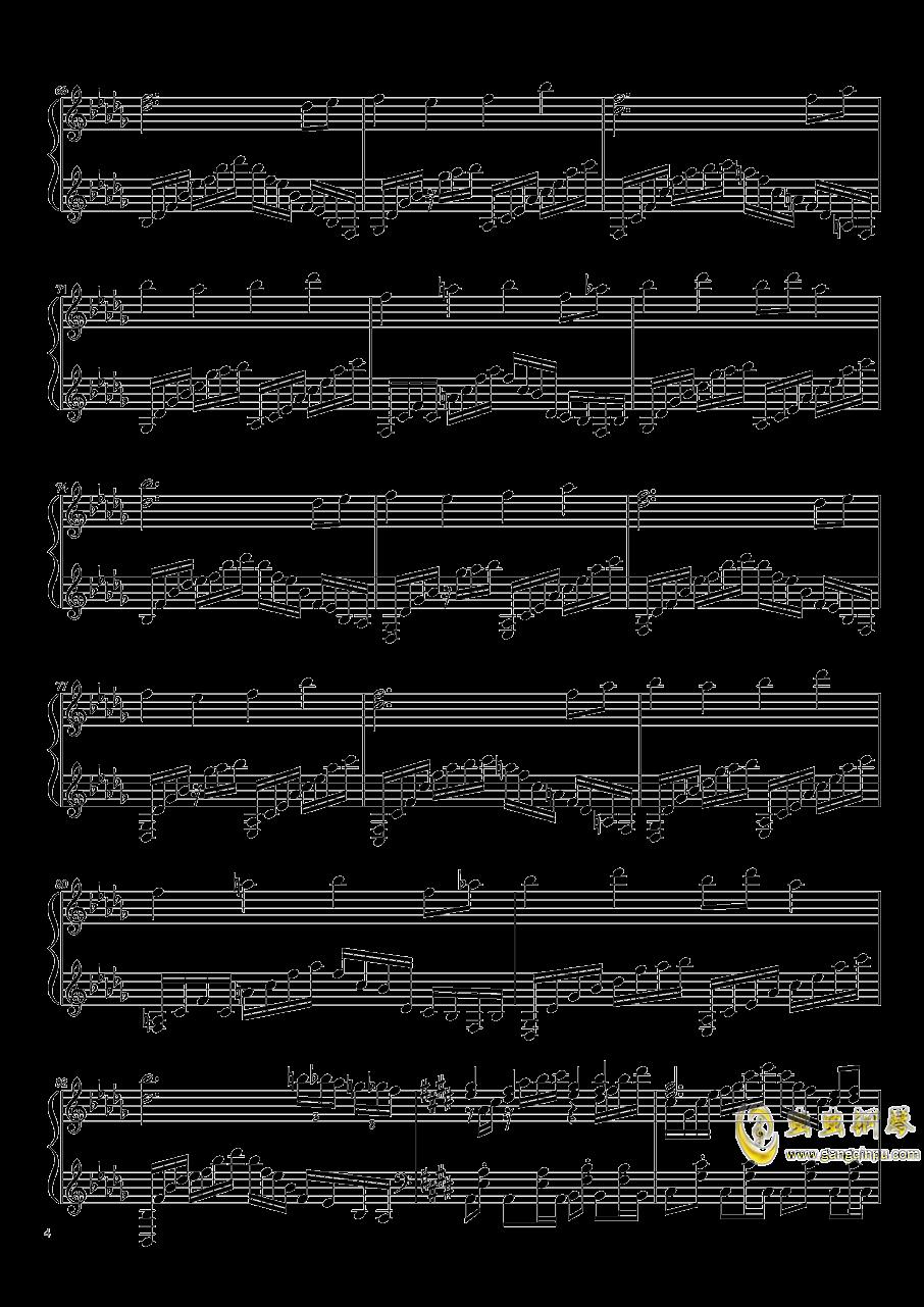 永远的春梦钢琴谱 第4页