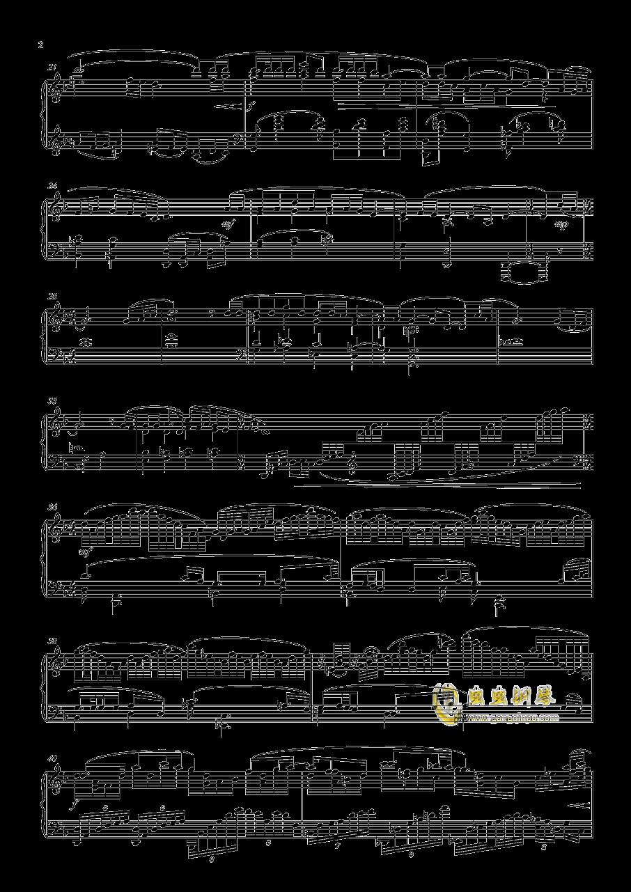 铜官谣-陶钢琴谱 第2页
