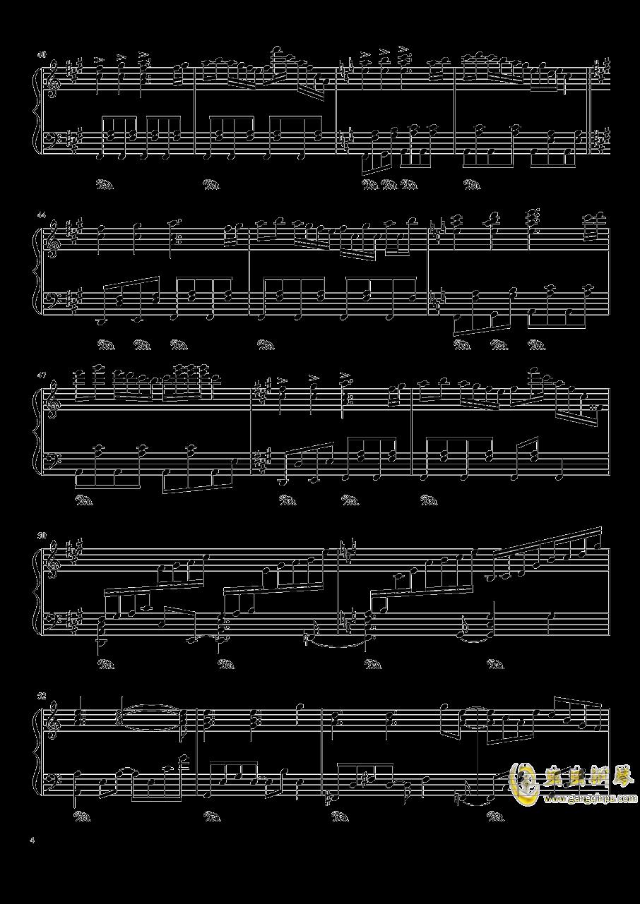 ブクレシュティの人形�� 布加勒斯特的人偶师【触手猴】钢琴谱 第4页