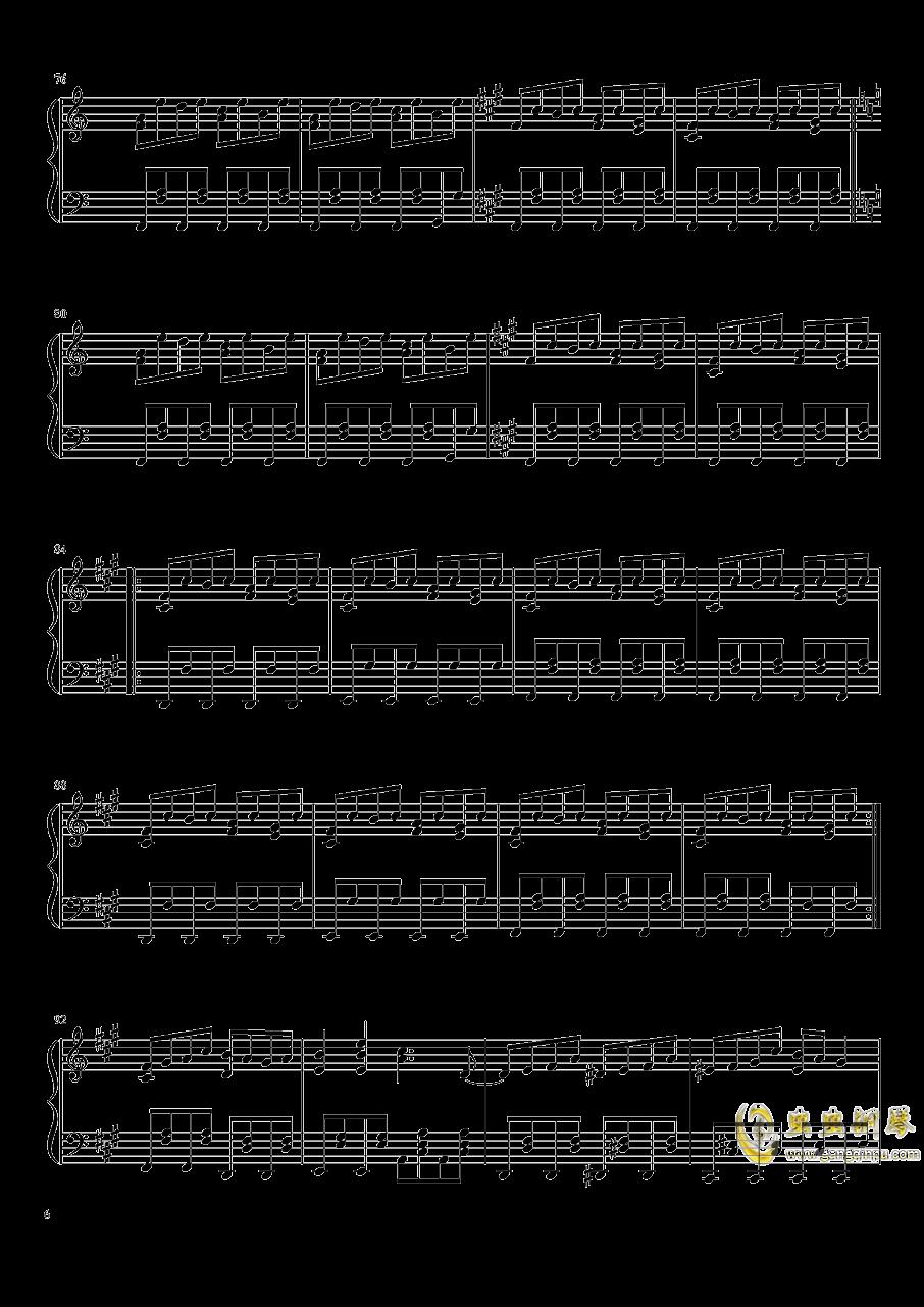 ブクレシュティの人形�� 布加勒斯特的人偶师【触手猴】钢琴谱 第6页