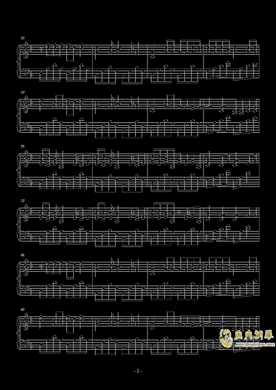 longing钢琴谱 第2页