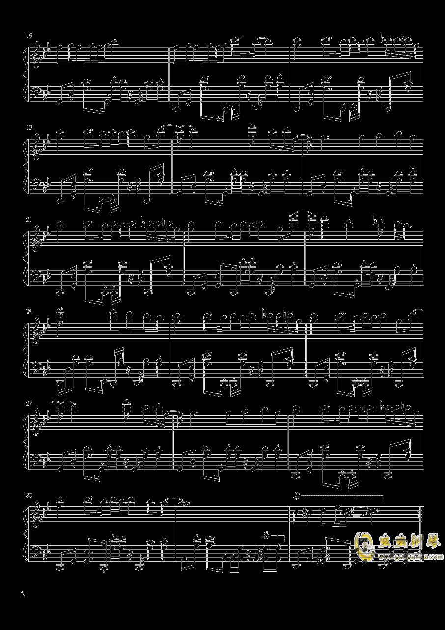 怒之铁拳2第三关钢琴谱 第2页