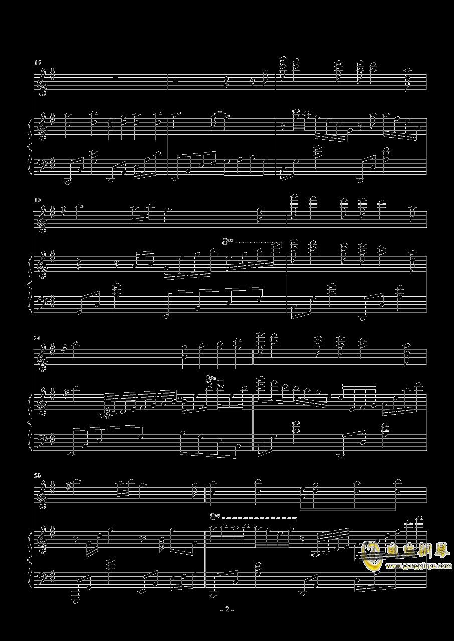 忧伤还是快乐钢琴谱 第2页