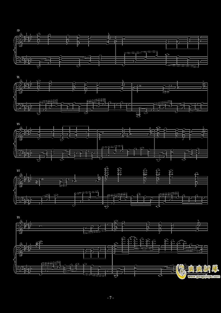 忧伤还是快乐钢琴谱 第7页