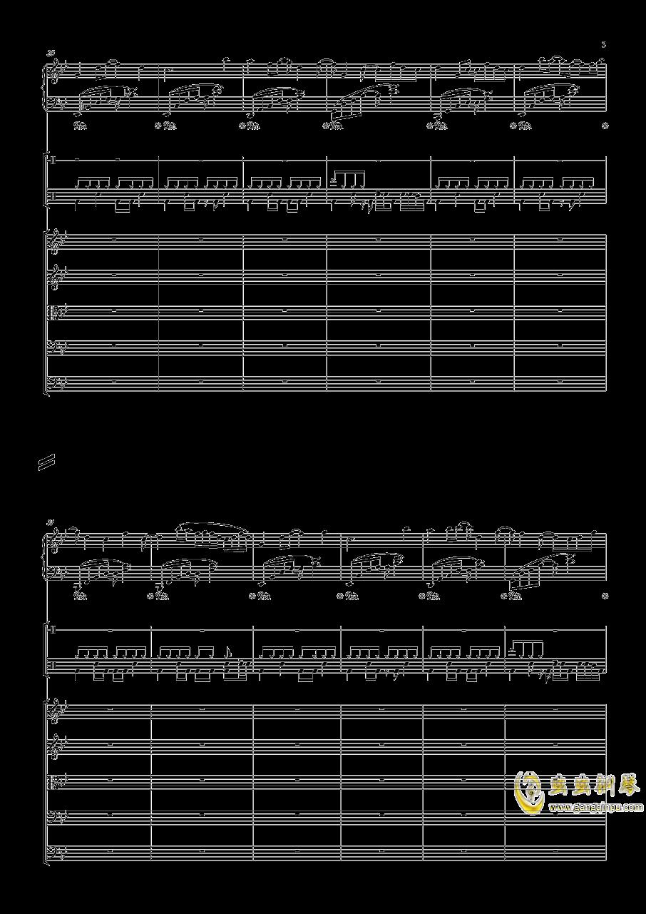 December钢琴谱 第3页