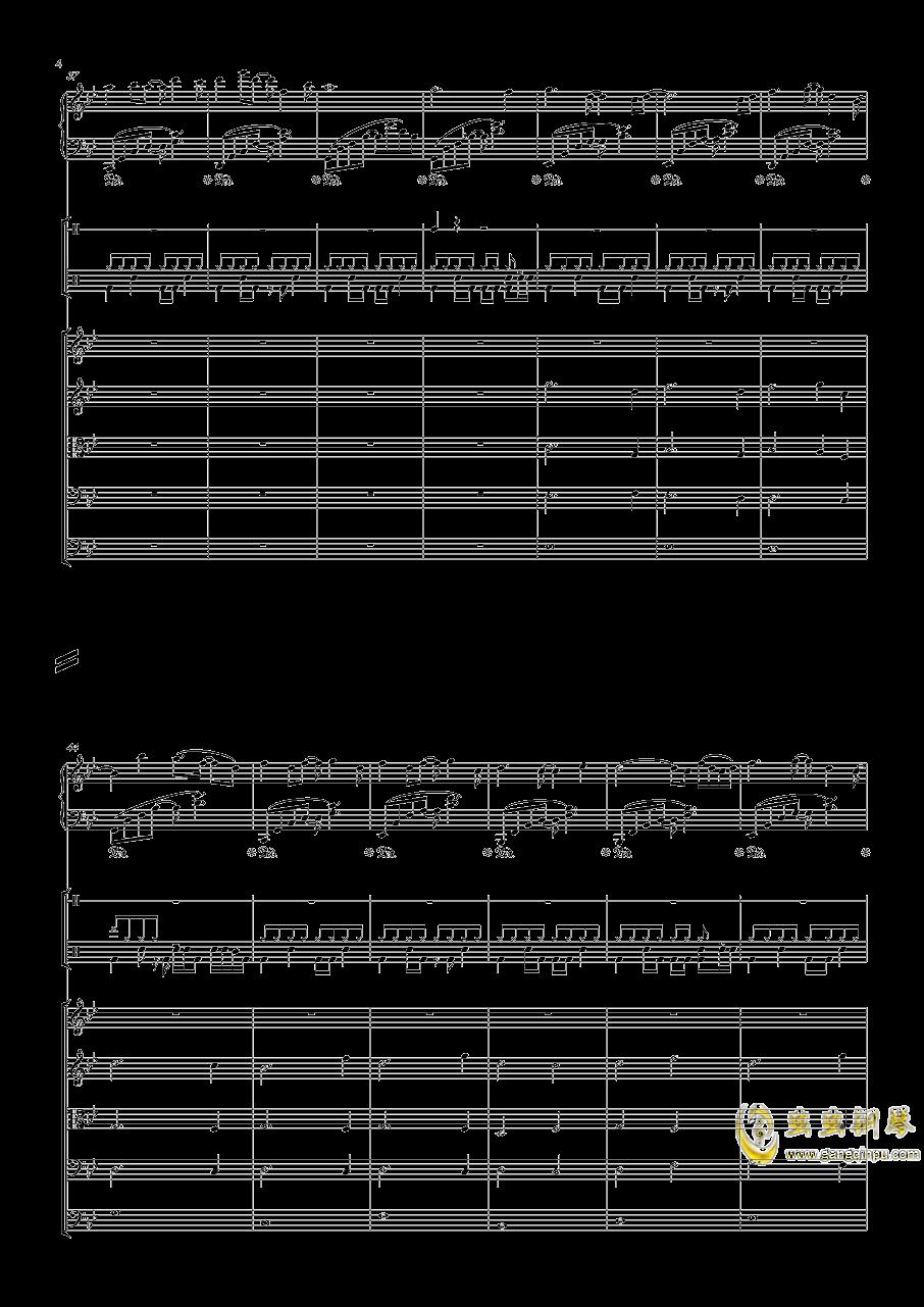 December钢琴谱 第4页