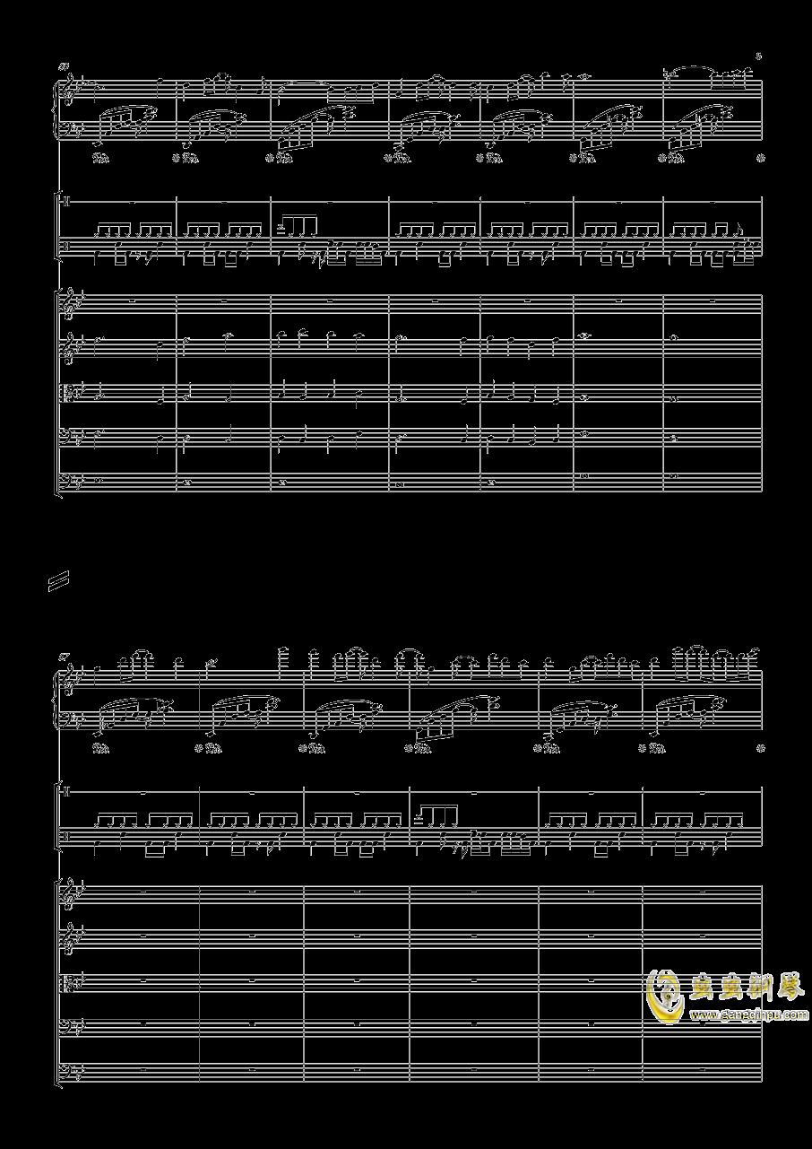 December钢琴谱 第5页