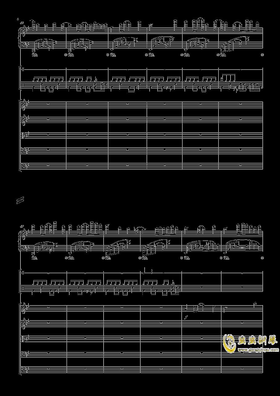 December钢琴谱 第6页