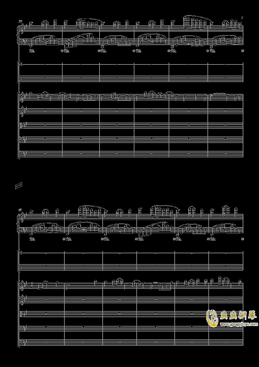 December钢琴谱 第7页