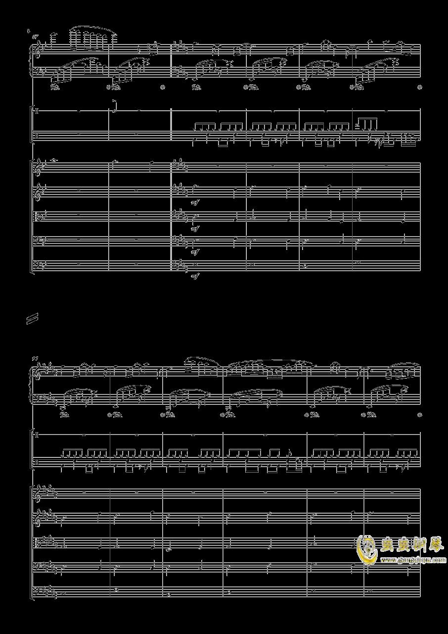 December钢琴谱 第8页