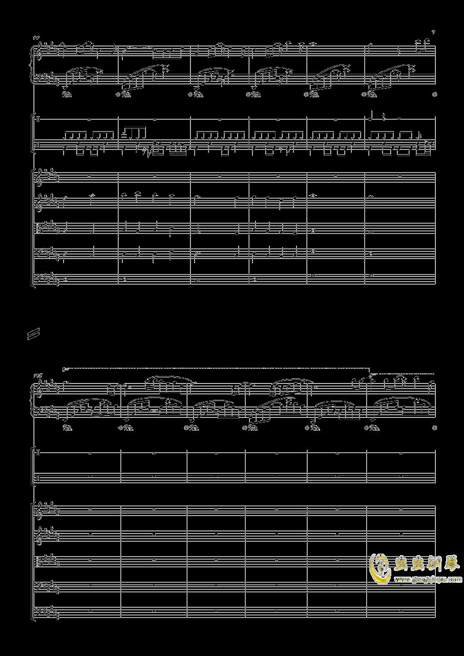 December钢琴谱 第9页