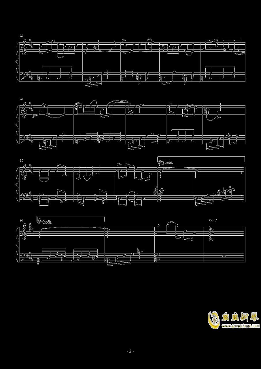 陪你一起看草原钢琴谱 第2页
