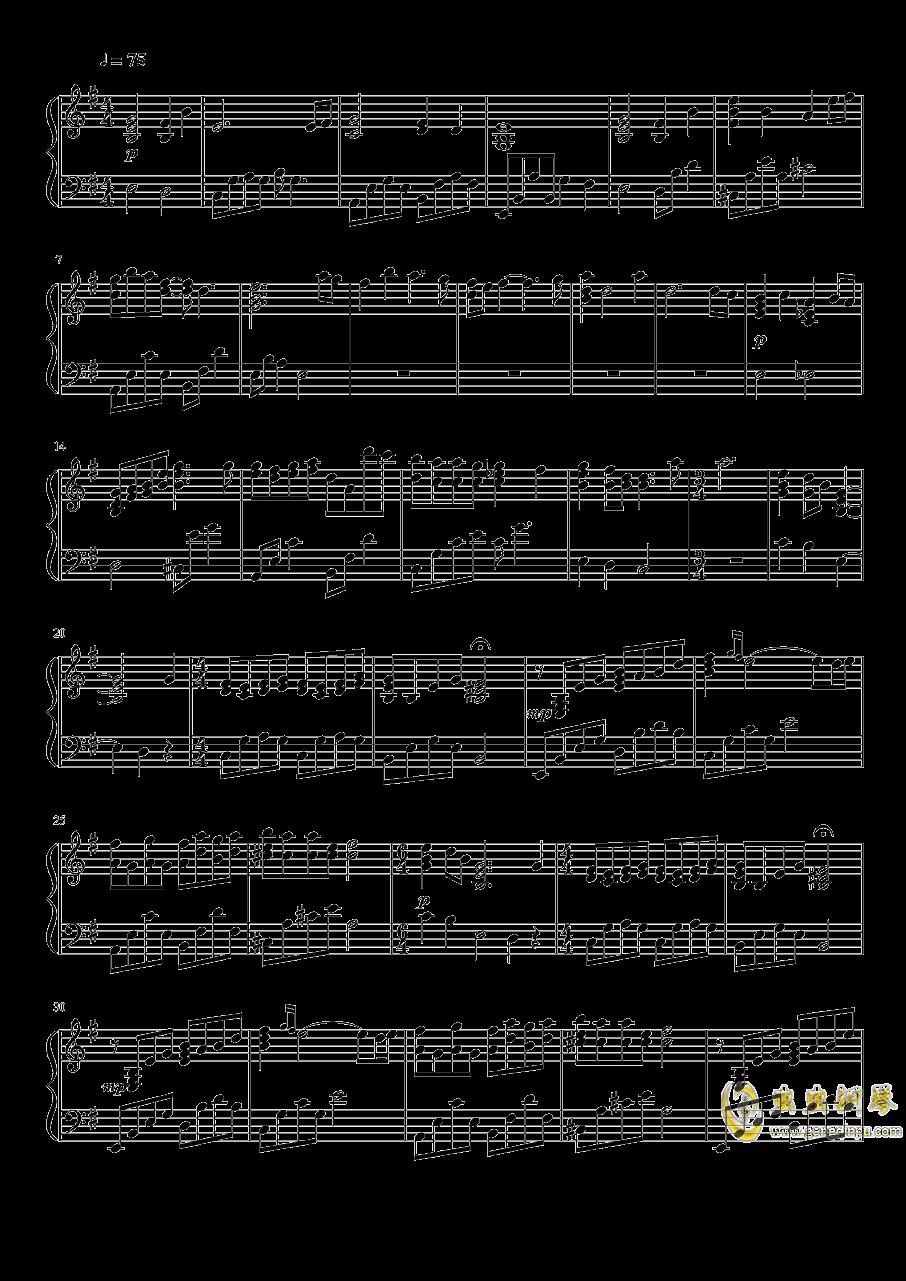关于我转生变成史莱姆这档事钢琴谱 第1页