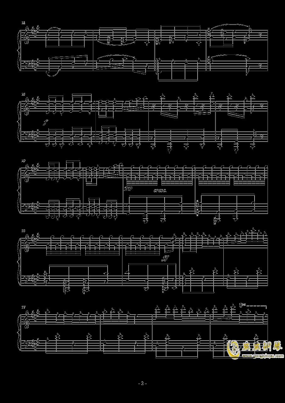 卡门序曲钢琴谱 第2页